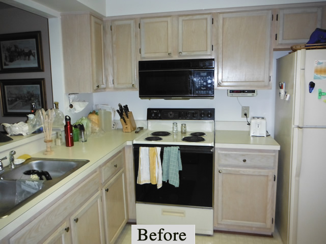 Pardee Kitchen Remodel – Before