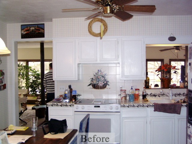 Hovland Kitchen Remodel Project – Before