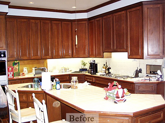 Cotrell Kitchen & Home Remodeling – Kitchen Before