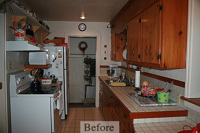 Crawford Kitchen Remodel – Before