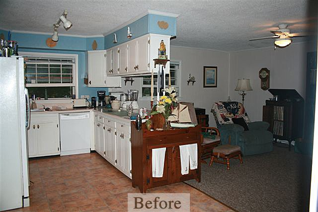 Merryfield Kitchen Remodel – Before