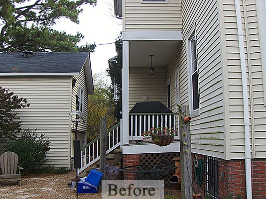 Brown/Reid Porch Addition – Before