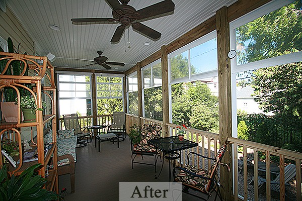 Brown/Reid Porch Addition – Complete