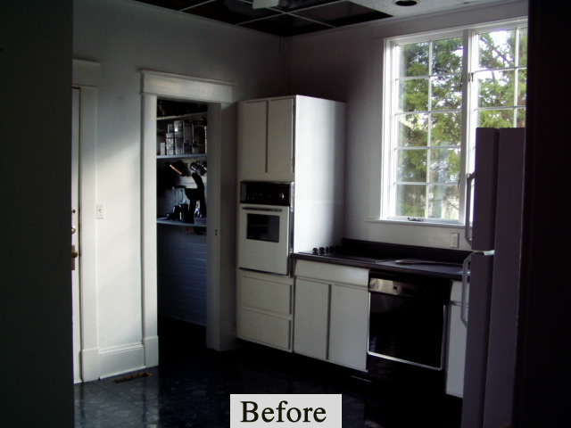 Brown Kitchen – Before